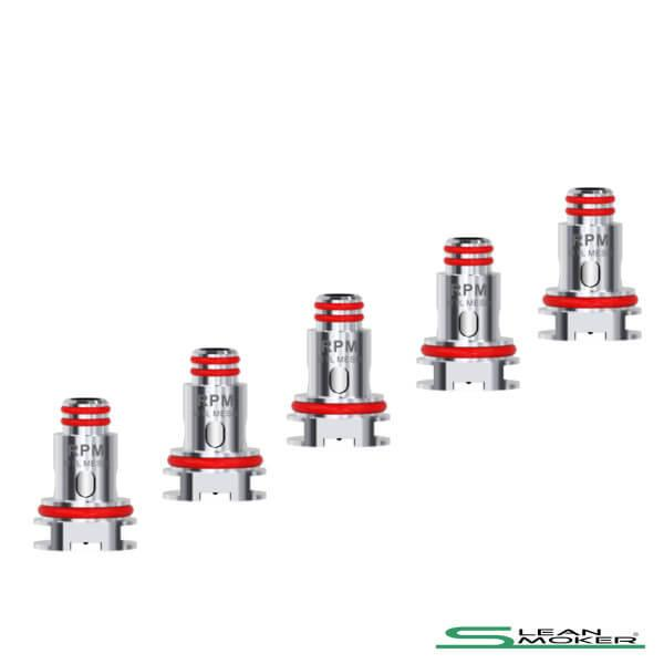 5x SMOK RPM DC MTL Heads 0,8 Ohm